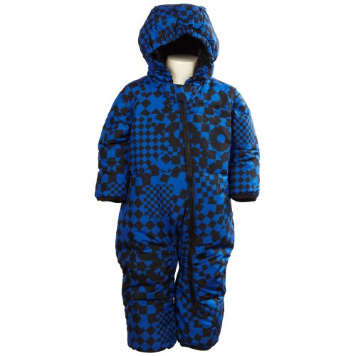 Columbia Baby Boys' Blue Snowsuit with Hood and Booties