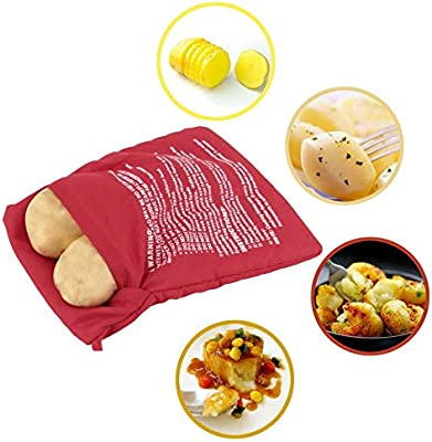 HaoYiShang Microondas 4 minutos Chaqueta patatas olla rápida ...