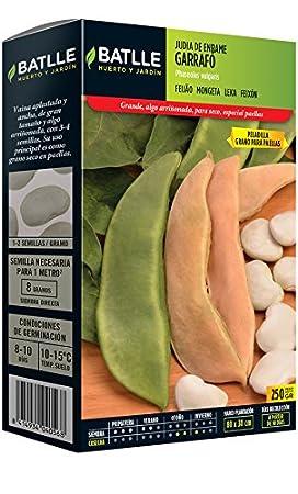 Semillas Leguminosas - Judía de Enrame Cobra 100g - Batlle