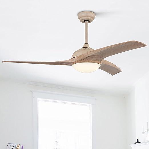 Ventilador de techo moderno simple Lámpara de ventilador ...