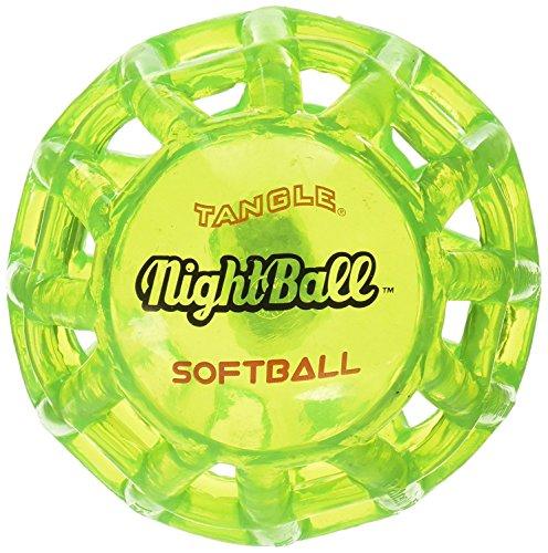 Tangle NightBall Glow in the Dark Light Up LED Softball 12755