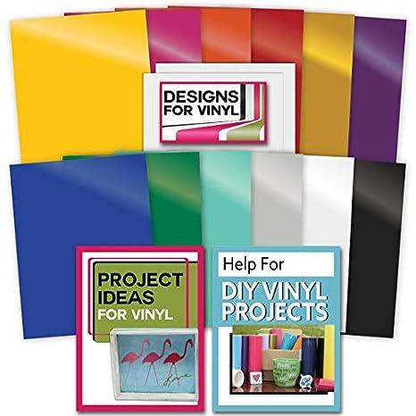 Paquete de 12 adhesivos vinilo con diseños exclusivos y ayuda para ...