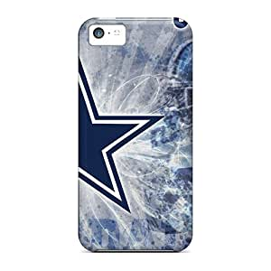 Bumper Hard Phone Cover For Iphone 5c With Support Your Personal Customized High-definition Dallas Cowboys Skin SherieHallborg