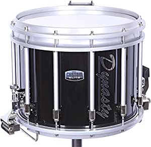 dynasty dfz tube style snare drum black 14x12 musical instruments. Black Bedroom Furniture Sets. Home Design Ideas