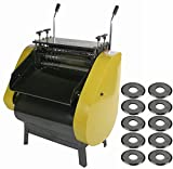 Steel Dragon Tools WRA40R Automatic Scrap Wire Stripper Machine with 10 Replacement Cutting Wheels