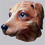 Gmasking Latex Puppy Dog Masks (Fleshcolor)