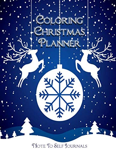 Coloring Christmas Planner: Plan Your Entire Holiday Season (Christmas Ideas Buffet Menu Lunch)