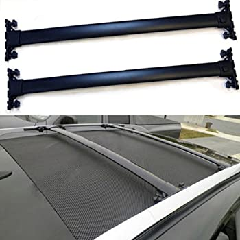 Amazon Com Outdoordeal Roof Rack Cross Bars For 2010 2015
