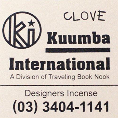 女の子連鎖抵抗力がある(クンバ) KUUMBA『incense』(CLOVE) (Regular size)