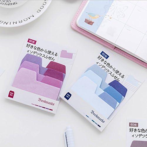 /Couleurs assorties Post it Notes Super Sticky Notes Value Pack 98/* 80/cm/ 8cm 03# 60/par paquet 9.8