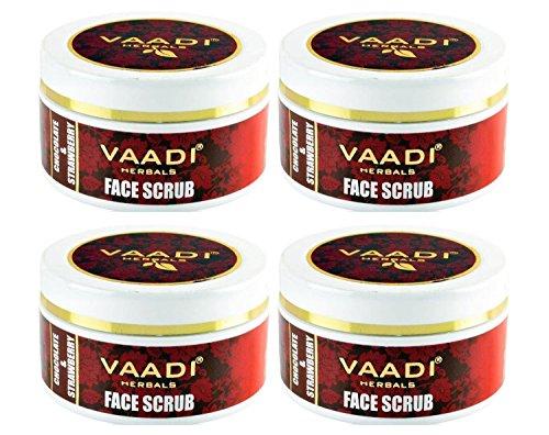 Vaadi-Herbals-Face-Scrub-Chocolate-Strawberry-50ml-Pack-of-4