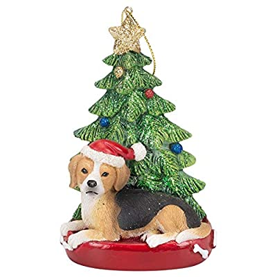 Kurt-Adler-4-Inch-Santa-Dog-Resin-Christmas-Ornament