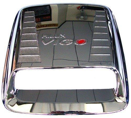 Toyota Hilux Mk6 Vigo Mk6 Sr5 Chrome Hood Scoop AIR Flow Vent Trim Year 2005-2011 by alaipart