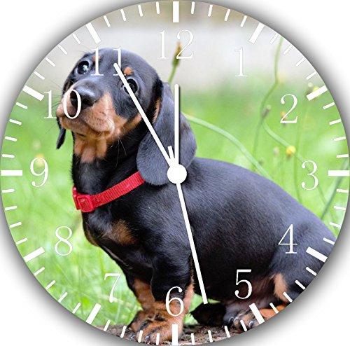 Dachshund Frameless Borderless Wall Clock F71 Nice For Gift or Room Wall Decor