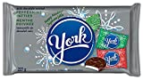 york peppermint patties (red, green, and silver foils), dark chocolate candy,  227-gram