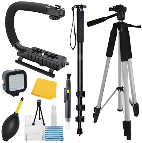 Adventurers Professional Exploration kit for Sony Cyber-shot DSC-RX100 IV, Bundle Contains: 72