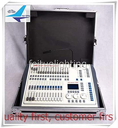 1pcs With Fly Case Lot Free Shipping Mini Pearl 1024 Controller Or Dmx Light Console For Sale Amazon Co Uk Musical Instruments