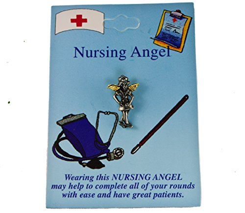 Sujak Military Items Nurse Angel Hat Lapel ()