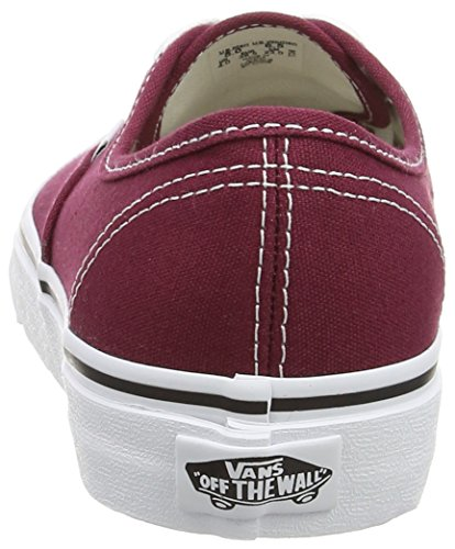 Vans Authentic, Zapatillas de skateboarding Unisex Blanco (Cordovan/True White)