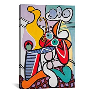 iCanvasART Nude and Still Life Canvas Art Print by Picasso, 18 by 12-Inch
