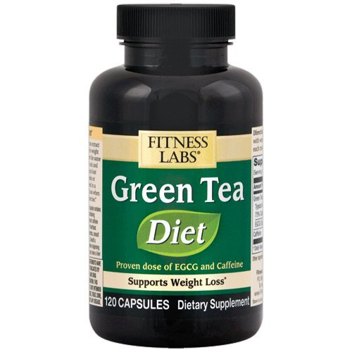 Fitness Labs Green Tea Diet 135mg ECGC, 75mg Caffeine, 120 C