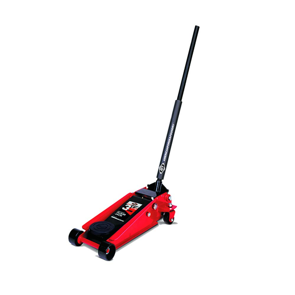 AFF American Forge and Foundry 350SS 3.5 Ton Heavy Duty Steel Quick Lift Service Floor Jack with Double Pumper by AFF