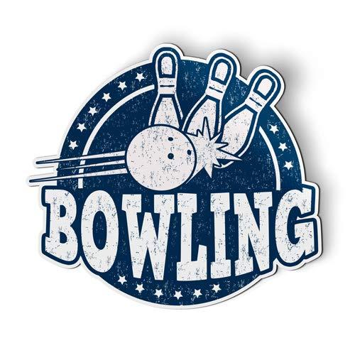 Bowling Magnet - Bowling - Flexible Magnet - Car Fridge Locker - 5