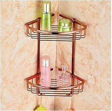 Bathroom Shelf Neoclassical Brass Zinc Alloy 1 Pc Hotel Bath