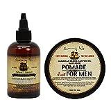Sunny Isle Jamaican Black Castor Oil Hair Food Pomade for Men, 4 Ounce