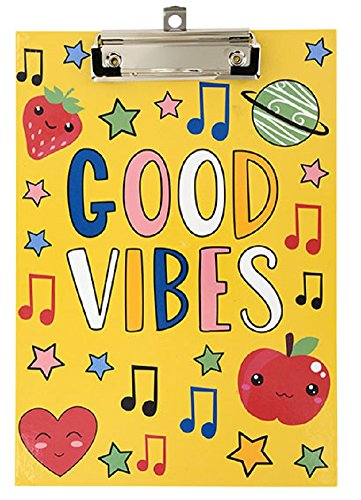 Good Vibes Stylish Clipboard (Mid Size - 7.5