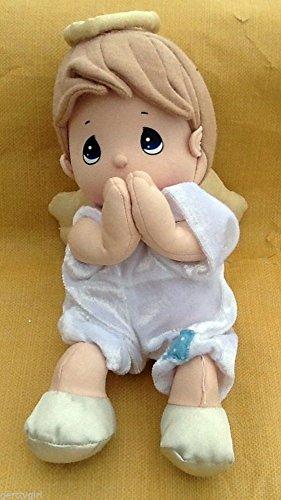 [Precious Moments Plush Prayer Pal Boy Angel Doll Prays Now I Lay Me Down to Sleep] (Precious Moments Angel Doll)