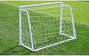 Ruiqas Portable Soccer Goal Net, Sports Training Net Kids Soccer Goals for Backyard All Weather Net Training E