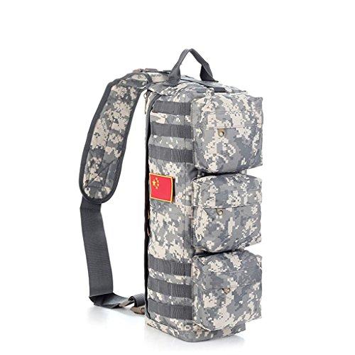 TaoMi- Mochila al aire libre - camuflaje bolso hombro hombres y mujeres al aire libre paquete de deportes bolsa Messenger Bag ( Color : B , Tamaño : 30L ) A