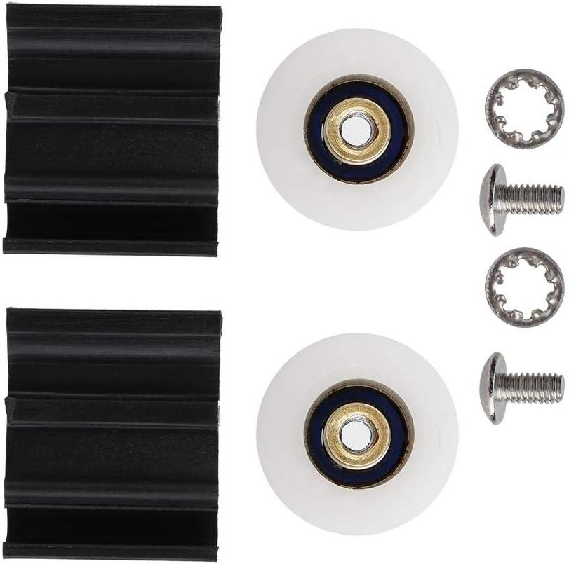 Mootea Door Wheel Replacement Kits 22mm for Halls Greenhouse Door Bathroom Pan Glass Sliding Door Pulleys//Runners//Wheels