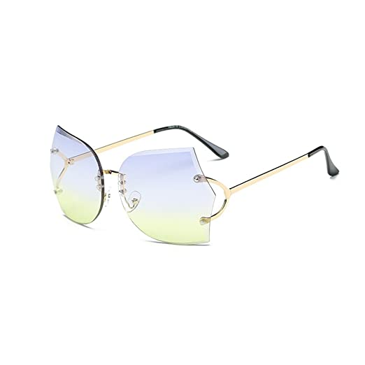 04a0bf75f8 Amazon.com  Rimless Sunglasses for Women