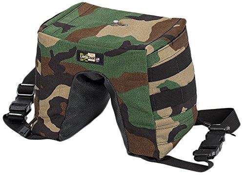 LensCoat LensSack Pro Jr. (Forest Green Camo) Camouflage Camera Bean Bag Support lclspjfg