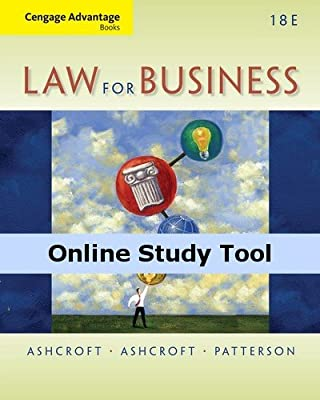 CourseMate (with Digital Video Library) for Ashcroft/Ashcroft Cengage Advantage Books: Law for Business, 18th Edition