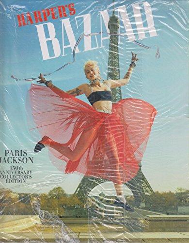 Harper's Bazaar April 2017 Paris Jackson 150th Anniversary Collector's Edition