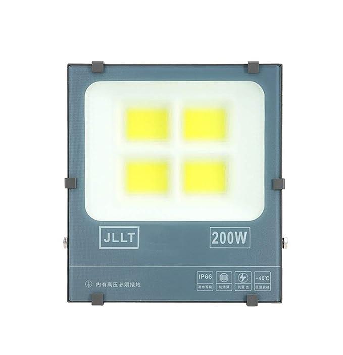 H-XH Foco Proyector LED,Lámpara De Seguridad para Obra Al Aire ...