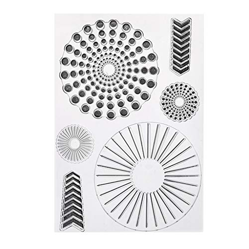 Oranmay Silicone Clear Seal Stamp DIY Art Embossing Photo Album Decorative Paper Card Crafts