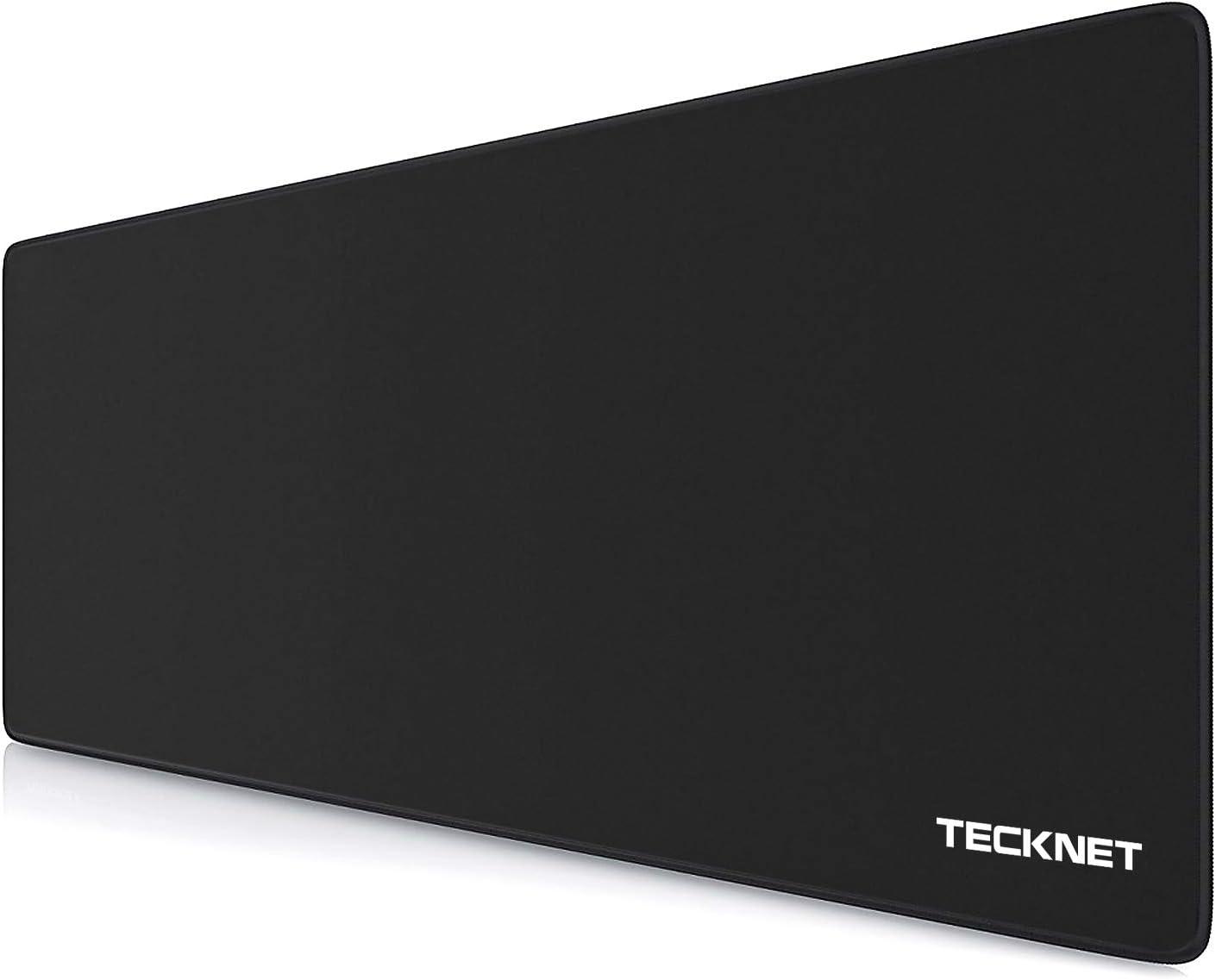 TECKNET Alfombrilla de Ratón - Gaming Mousepad 900x400x3mm, Base de Goma Antideslizante, Superfície con Textura Especial, Compatible con ratón láser y óptico