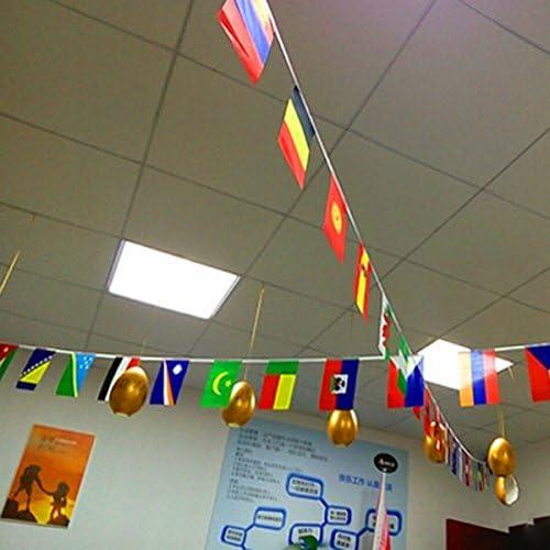Semoic Top 32 - Paño para Banderas de la Copa del Mundo (8 x 12 ...