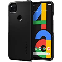 Spigen Thin Fit Designed for Google Pixel 4a Case (2020) [NOT Compatible with Pixel 4a 5G] - Black (ACS01014)