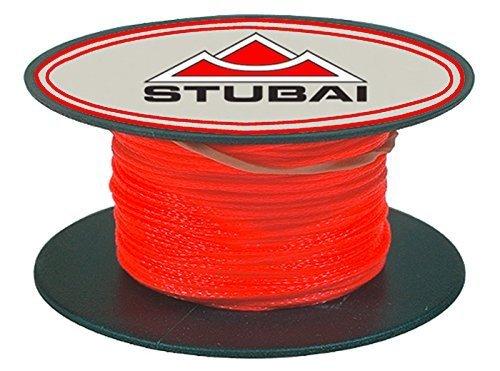 Stubai Maurerschnur auf Spule Durchmesser 1 mm 50 m, rot, 443105