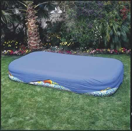 Intex Rectangular Pool Cover for 103 in. x 69 in. or 120 in. x 72 in. Pools]()