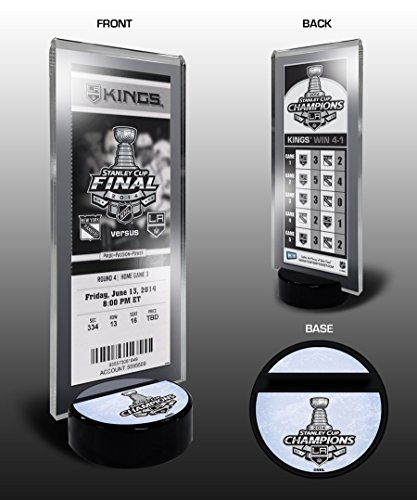 2014 NHL Stanley Cup Champions Commemorative Ticket Stand - Los Angeles Kings