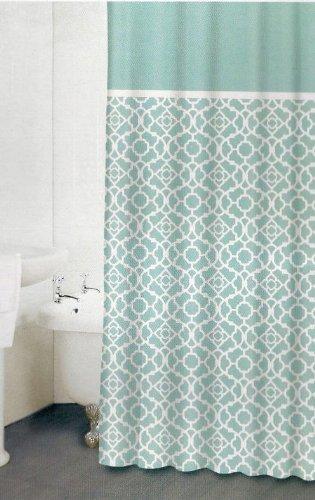 Waverly Lovely Lattice Shower Curtain