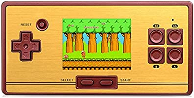 Whatsko 内蔵600種ゲーム ポータブルゲーム機 レトロ懐かしのビデオハンドルゲームミクロ