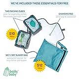 Large Capacity Diaper Bag Backpack- with YKK