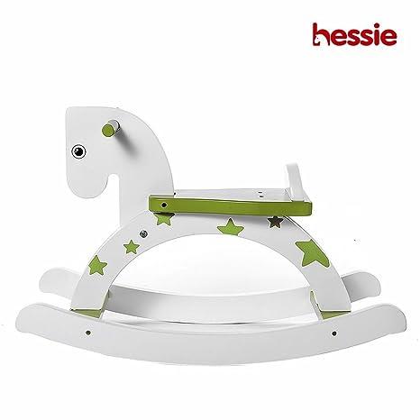 hessie – Saco de Dormir clásico Antiguo Caballo balancín de Madera, Apto para Uso Exterior